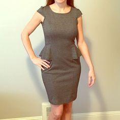 Side Peplum Business Dress