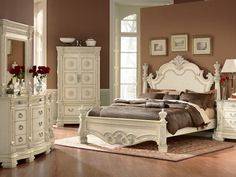 antique grey bedrooms | Antique Bedroom Set With New Design Theme | Pictures and Photos of ...