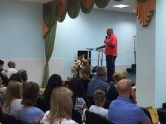 Teaching in a Sunday Church Congregation in the city of Azov, Russia #4 - 9.6.15