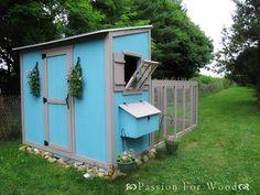 Whitney's Workshop: Chicken Coop: Part Two!