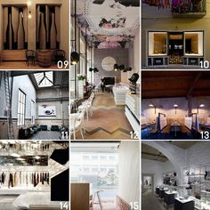 Hospitality & Retail Interior Design// 2012 Archive on Yellowtrace.