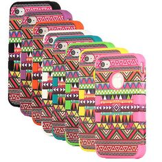 3 Piece Tribal Pattern High Impact Hard Case Cover for iPhone 4 4S 4G Stylus   eBay