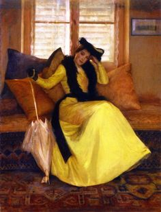 Lady in Yellow - Susan Watkins