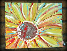 Amanda Hilburn is a palette knife and mixed media artist sharing art lessons, acrylic paintings, and creative business help with others. Vincent Van Gogh, Craft Work For Kids, Canvas Art Quotes, Wine And Canvas, Paint And Sip, Flower Art, Art Flowers, Beautiful Flowers, Art Party
