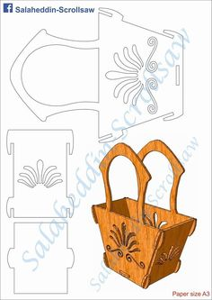 scroll saw woodworking patterns Scroll Saw Patterns Free, Scroll Pattern, Pattern Art, Free Pattern, Wood Carving Patterns, Wood Patterns, Craft Patterns, Cardboard Crafts, Wooden Crafts