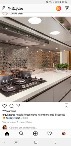 New Kitchen Remodel Diy Backsplash Ideas Back Splashes Ideas New Kitchen, Kitchen Decor, Kitchen Modern, Kitchen Backsplash, Backsplash Ideas, Tile Ideas, Diy Kitchen Remodel, Cuisines Design, Interior Design Kitchen