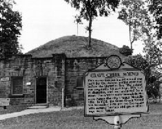 Grave Creek Mound, U.S. National Historic Landmark, U.S. National Register of Historic Places, Moundsville, West Virginia