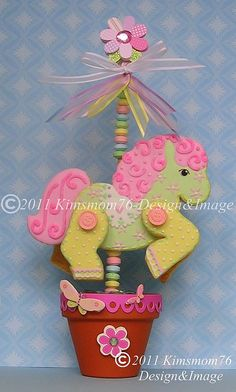 3D Carousel Horse Cookie