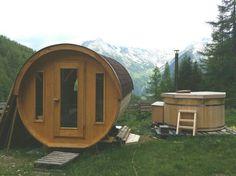 Sauna+idromassaggio all'aperto. Valle Aurina. Rifugio Speck & Schnapsalm. #passeggiata #relax #love