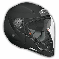 Helmet by Vega - Scooter Motorcycle Moped Helmets - Phantom Convertible Black (No Quick Release) > Part Motorcycle Helmet Design, Scooter Motorcycle, Moto Bike, Moped Helmets, Vega Helmets, Ducati, Yamaha, Motocross, Helmet Accessories