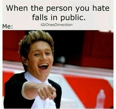 its funny cuz its true and it dosent have to be somebody you hate it can be your best friend and you be there like lol