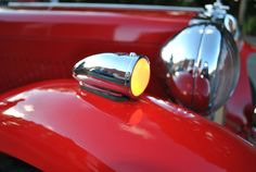 1949 MG TC Off Side Drivers Front Wing Light