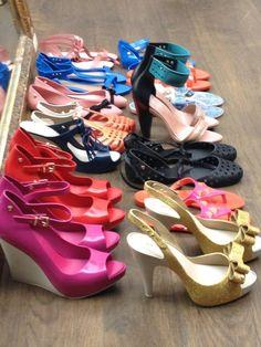 Melissas on melissas on melissas #shoes