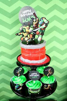 Ninja Turtle Halloween Bucket