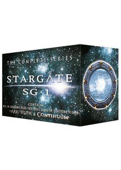 Stargate SG-1 (alla avsnitt +två filmer)