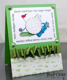 golf themed card invitation #golf #lorisgolfshoppe