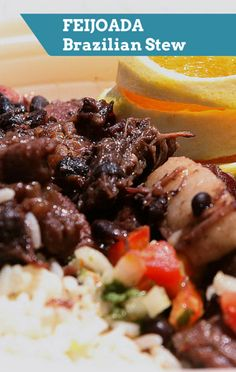 Today Show's Natalie Morales shared the hearty ingredients of Feijoada, a Brazilian stew for the whole family. Bacon Recipes, Crockpot Recipes, Yummy Recipes, Yummy Food, Green Drink Recipes, Best Pork Recipe, Natalie Morales, Healthy Family Meals, Portuguese Recipes