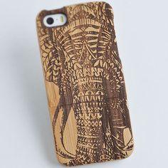 Wood Samsung Galaxy by kevincrafts