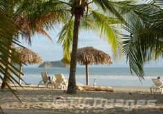 Samara Costa Rica - Nicoya peninsula, wide beaches, calmer waves