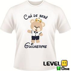Camiseta Para Chá de Bebê Personalizada