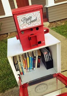 Little Free Library 23728 in Historic Oakland Oregon, on the corner of 6th and Oak St.
