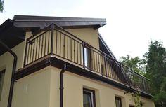 Balustrada zewn�trzna, stal czarna ocynkowana, lakierowana proszkowo � Brwin�w