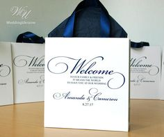Destination Wedding Welcome Bag, Welcome To Our Wedding, Wedding Thank You, Wedding Tips, Wedding Gift Baskets, Wedding Gift Bags, Wedding Favors For Guests, Wedding Door Hangers, Wedding Doors