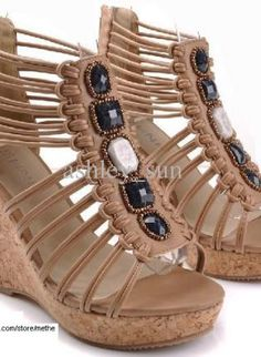 Hot sell Top quality wedge sandals Ms shoes/Bohemian sandals,  Shoes, Hot sell Top quality wedge sandals, Eco Friendly - #UsTrendy, #Spring #Style