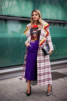 STYLECASTER |  Лучшие стили улиц в стиле Недели моды в Европе