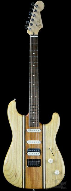 Fender 10 for '15 Limited Edition American Longboard Stratocaster HSS Natural