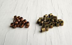 Crimp beads and crimp tubes
