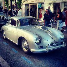 Silver Porsche 356 Porsche 911 997, Porsche Cars, Classic Cars, Porsche Classic, Ferdinand Porsche, Amazing Cars, Awesome, Exotic Cars, Motor Car