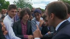 Thats Mr. President to You: Macron Scolds French Student