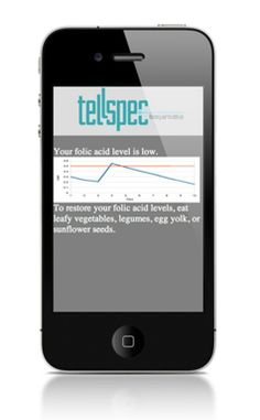 Keep yourself healthy with TellSpec, a revolutionary handy device smaller than your phone. Check what's in your food and track on your intake.