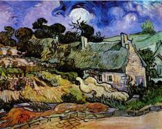 Houses with Thatched Roofs, Cordeville
