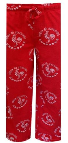 WebUndies.com Sriracha Hot Sauce Logo Lounge Pants