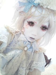 Of Cabbages and Kings Harajuku Fashion, Lolita Fashion, Blue Fashion, Asian Fashion, Cute Costumes, Girl Costumes, Valley Girls, Punk, Living Dolls