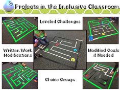 Two Techie Teachers: Inclusion in the Techy Classroom: Modified Sphero Mazes