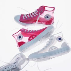 Converse All Star translúcidos Converse All Star, Mode Converse, Converse Shoes Outfit, Converse Style, Sneakers Fashion, Fashion Shoes, Aesthetic Shoes, Hype Shoes, Girls Shoes