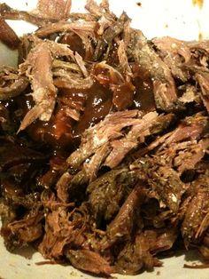 venison recipes slow cooker   Pulled Venison BBQ Sandwich - Great Venison Cooking