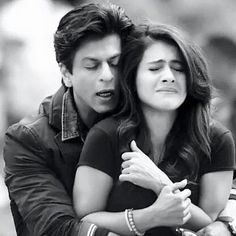 Back hugs and when it is SRK who is pouring his affection..