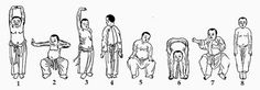 ba duan jin exercises - Google Search
