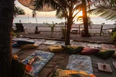 Costa sur de Goa, un estado en la costa oeste de India