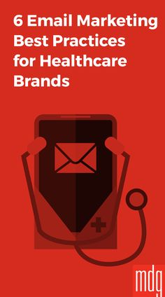 6 Email Marketing Best Practices for Healthcare Brands -- For healthcare brands and providers, email marketing has become more important than ever. In an age of ever-changing social platforms and new communication methods, email remains a reliable, powerful digital marketing channel that continues to connect with all demographics.