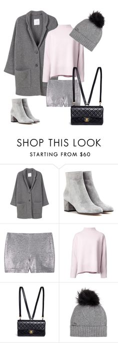"""""""Doux hiver 💕❄️"""" by solenn-natali on Polyvore featuring mode, MANGO, Gianvito Rossi, Le Ciel Bleu, Chanel et Woolrich"""