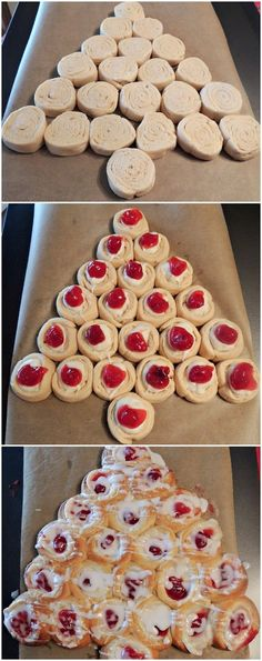 An easy last-minute recipe to serve for breakfast on Christmas morning is this delicious Christmas tree cream cheese danish. Your family i...