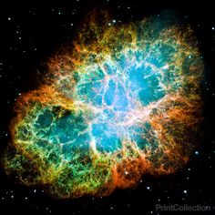 Crab nebula. Another space favourite.