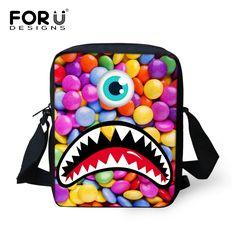 f7d6f3361141 2016 Causal Women Messenger Bags 3D Monster Cute Children Crossbody Bags  for Girls Boys Travel Shoulder Bags Sling Shoulder Bags-in Crossbody Bags  from ...