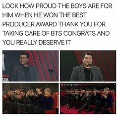 When pd Bang wins the best producer award
