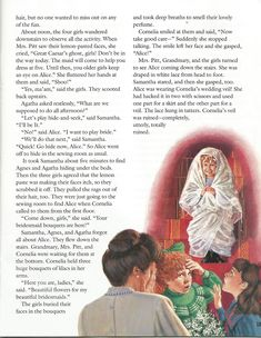 """American Girl Magazine - January 1993/February 1993 Issue - Page 16 (Part 6 of """"A Most Exceptional Bridesmaid"""" - A """"Samantha Parkington"""" Story by Valerie Tripp for American Girl)"""